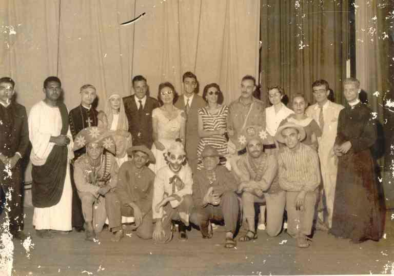 auto_da_compadecida_1956_elenco_e_atores Arquivo Projeto Memorias da Cena Pernambucana