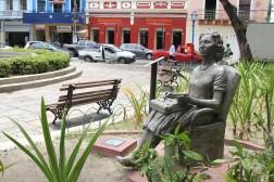 Clarice Lispector_Circuito da Poesia_Boa Vista_Demétrio Albuquerque_Foto Nando Chippetta Recife Arte Pública