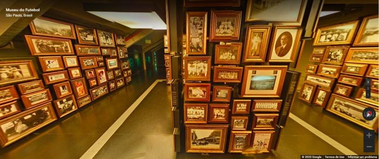 Museu do Futebol tour virtual história do futebol Google Arts and Culture